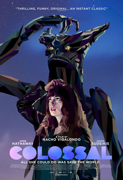 Colossal (2016) - Movie Poster