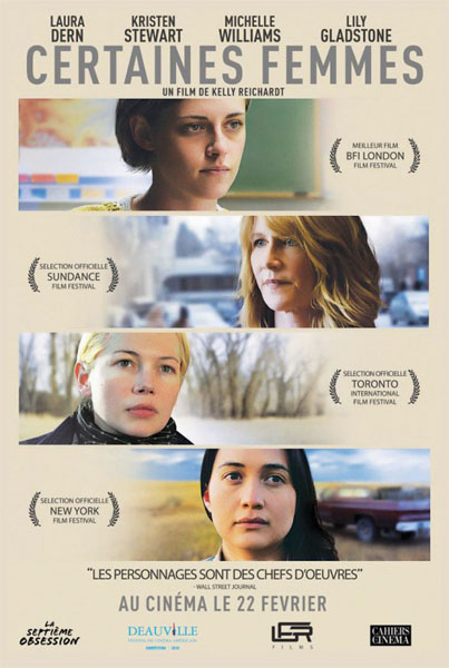 Certain Women (2016) - Movie Poster