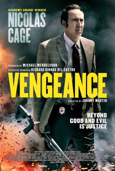 Vengeance: A Love Story (2017) - Movie Poster
