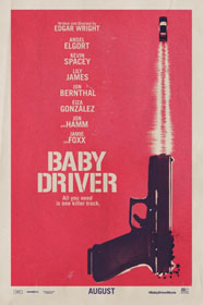 Baby Driver (2017) - Movie Poster