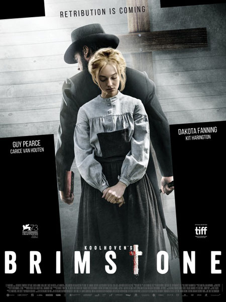 Brimstone (2016) - Movie Poster