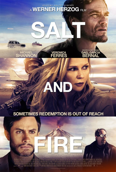 Salt and Fire (2016) - Movie Poster