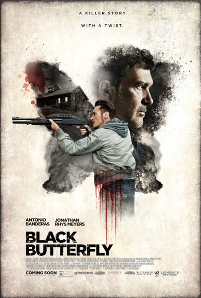 Black Butterfly (2017) - Movie Poster