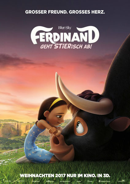 Ferdinand (2017) - Movie Poster