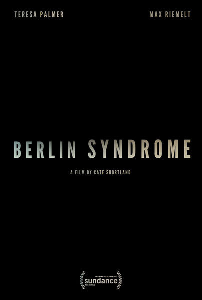 Berlin Syndrome (2017) - Movie Poster