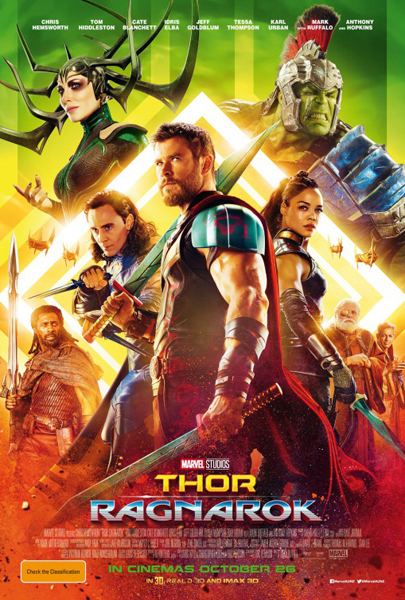 Thor: Ragnarok (2017) - Movie Poster