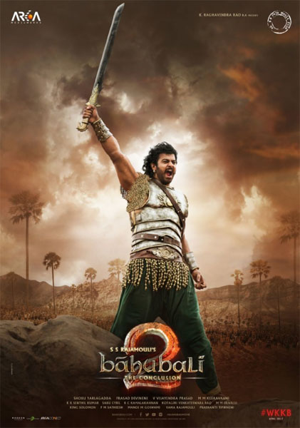 Baahubali 2: The Conclusion (2017) - Movie Poster