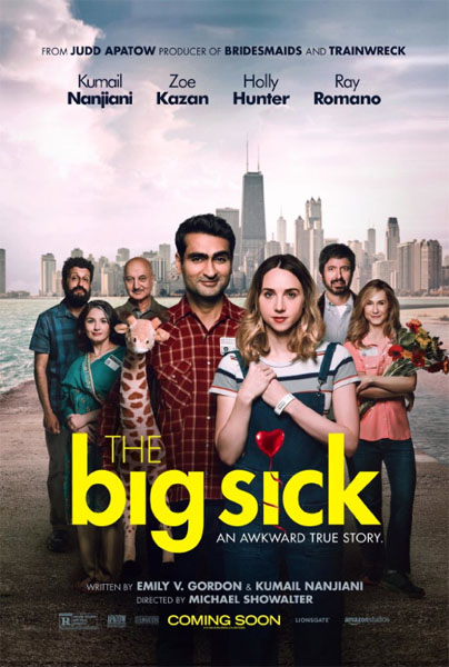 The Big Sick (2017) - Movie Poster