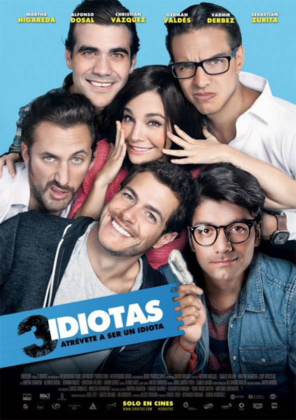 3 Idiotas (2017) - Movie Poster