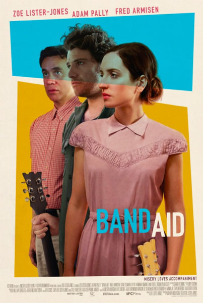 Band Aid (2017) - Movie Poster