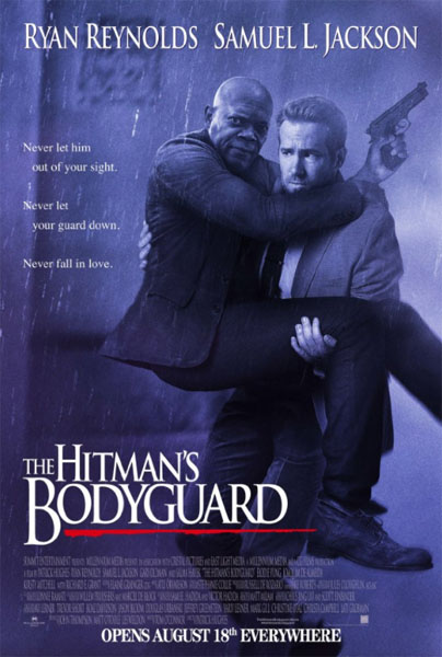 The Hitman\'s Bodyguard (2017) - Movie Poster