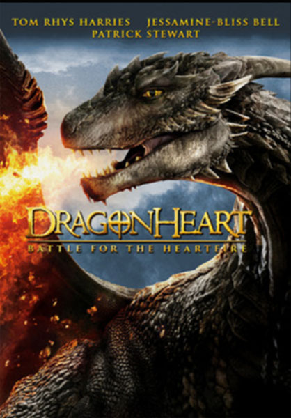 Dragonheart: Battle for the Heartfire (2017) - Movie Poster