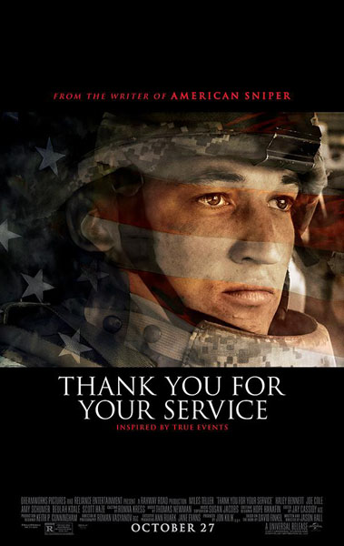 Thank You for Your Service (2017) - Movie Poster