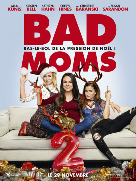 Bad Moms Christmas, A (2017) - Movie Poster
