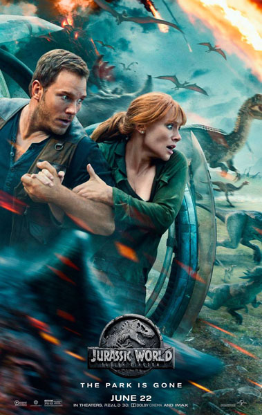Jurassic World: Fallen Kingdom (2018) - Movie Poster