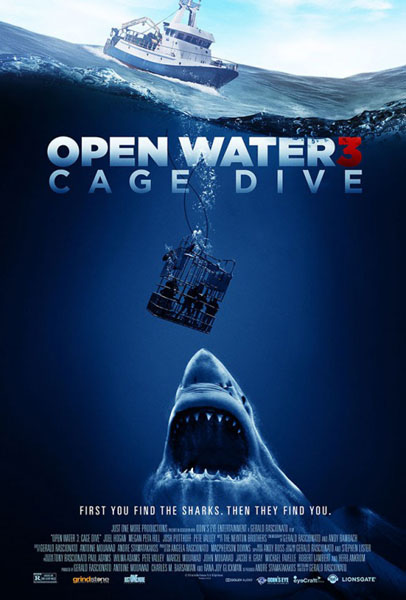 Open Water 3: Cage Dive (2017) - Movie Poster