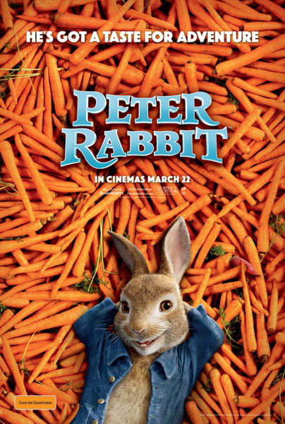 Peter Rabbit (2018) - Movie Poster