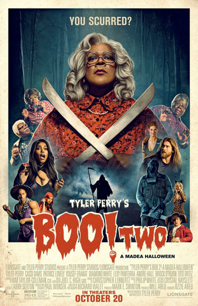 Boo 2! A Madea Halloween (2017) - Movie Poster