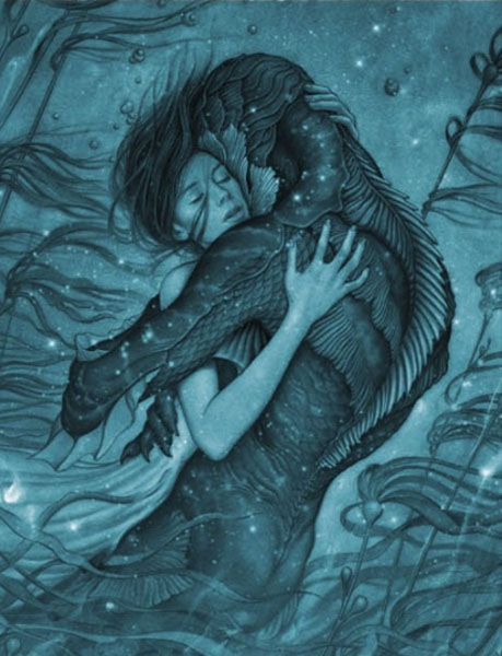 The Shape of Water (2017) - Movie Poster