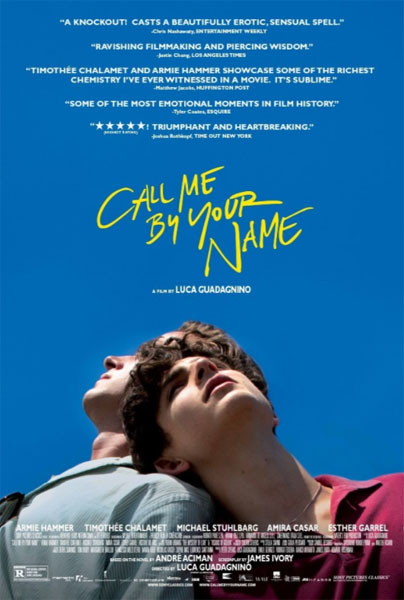 Call Me by Your Name (2017) - Movie Poster