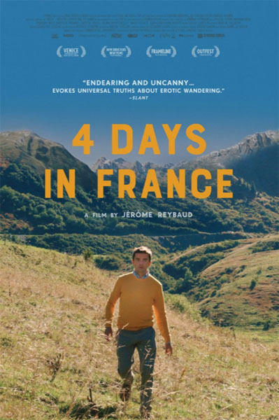 4 Days in France (2016) - Movie Poster