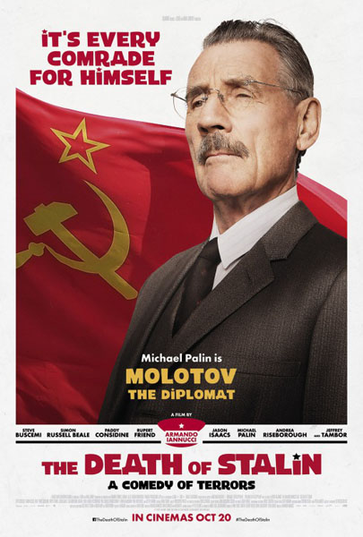 The Death of Stalin (2017) - Movie Poster