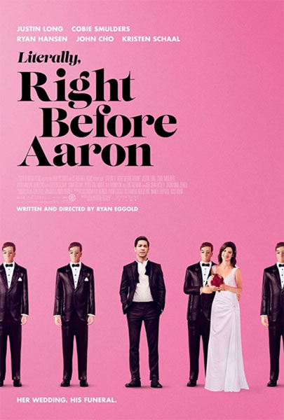 Literally, Right Before Aaron (2017) - Movie Poster