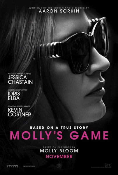 Molly\'s Game (2017) - Movie Poster