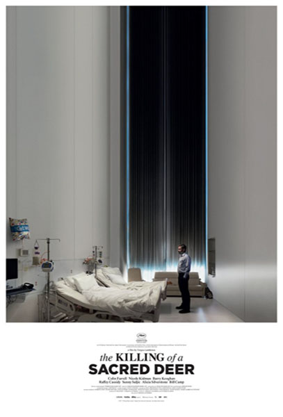 The Killing of a Sacred Deer (2017) - Movie Poster