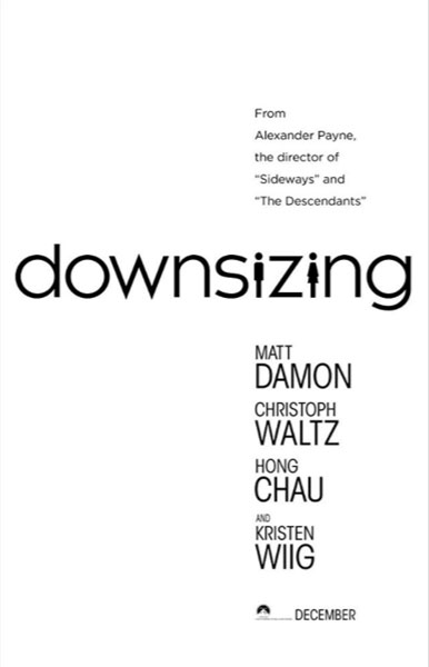 Downsizing (2017) - Movie Poster