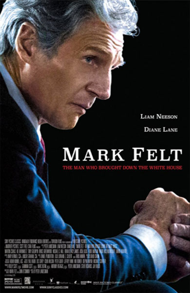 Mark Felt: The Man Who Brought Down the White House (2017) - Movie Poster