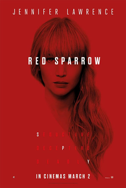 Red Sparrow (2018) - Movie Poster