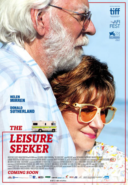 Leisure Seeker, The (2017) - Movie Poster