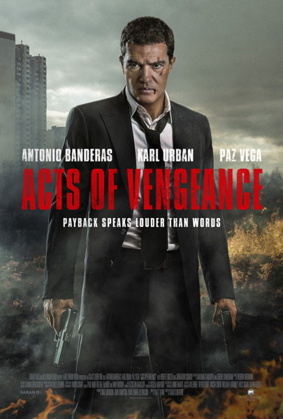 Acts Of Vengeance (2017) - Movie Poster