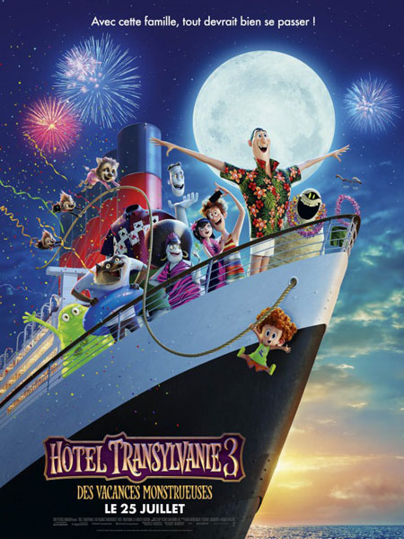 Hotel Transylvania 3 (2018) - Movie Poster