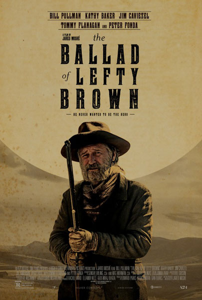 The Ballad of Lefty Brown (2017) - Movie Poster