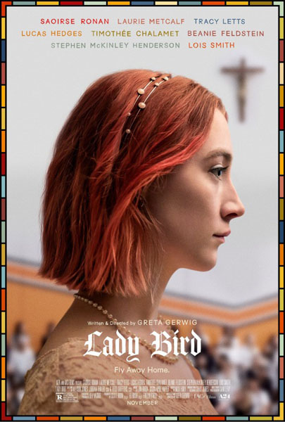 Lady Bird (2017) - Movie Poster