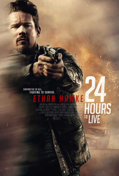 24 Hours to Live (2017) - Movie Poster