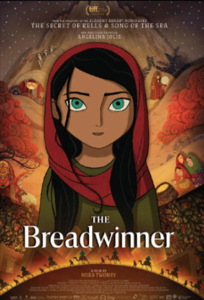 The Breadwinner (2017) - Movie Poster