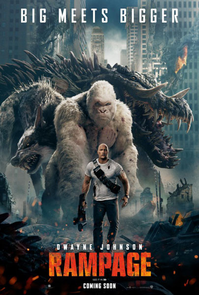 Rampage (2018) - Movie Poster