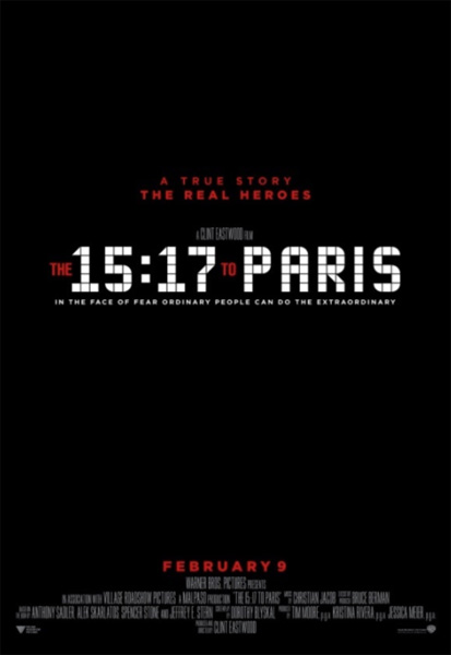 15:17 to Paris, The (2018) - Movie Poster