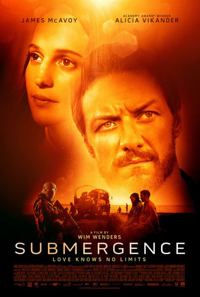 Submergence (2017) - Movie Poster