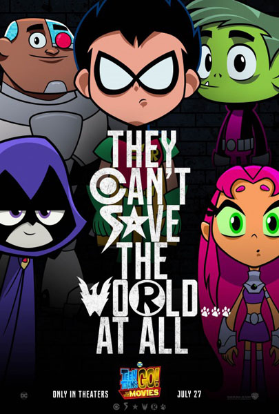 Teen Titans Go! To the Movies (2018) - Movie Poster