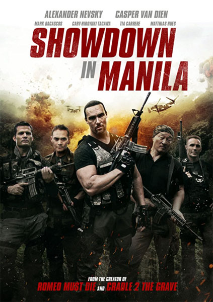 Showdown in Manila (2016) - Movie Poster