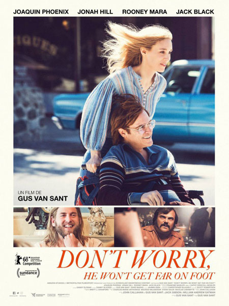 Don't Worry, He Won't Get Far on Foot (2018) - Movie Poster