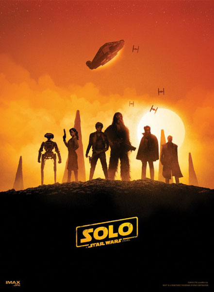 Solo: A Star Wars Story (2018) - Movie Poster