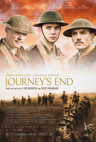 Journey's End (2017) - Movie Poster