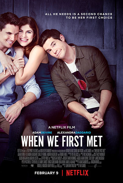 When We First Met (2018) - Movie Poster