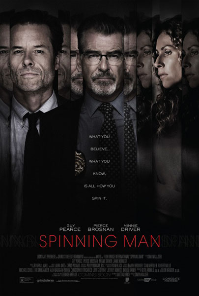Spinning Man (2018) - Movie Poster