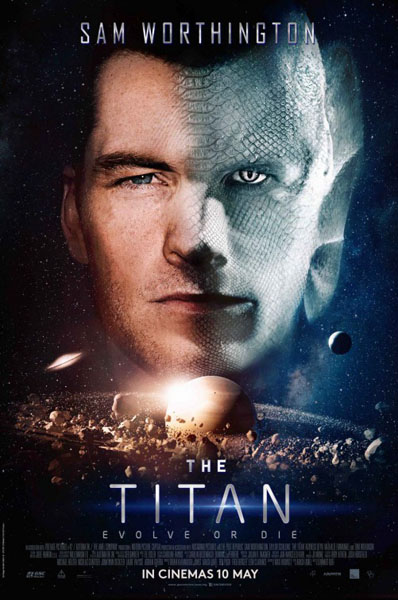 The Titan (2018) - Movie Poster